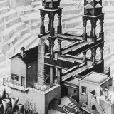 MC Escher - Waterfall illusion